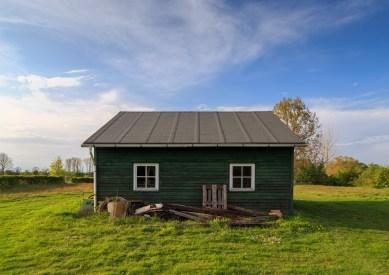Hut and Nature