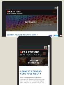 Nos sites internet sont Responsive Design