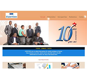 Le Site Web du Cabinet EXPERTISES Tax and Legal