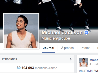 j'aime des top pages N°12 (2) MICHAEL JACKSON