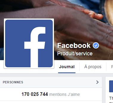 j'aime des top pages N°2 FACEBOOK