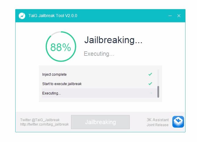 Etape 2 jailbreak : Tutoriel de Jailbreak ios 8.1.3 , 8.2 , 8.3 et 8.4 avec TaiG