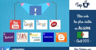 TOP 10 : les meilleurs sites internet en Algérie