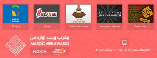 Maroc Web Awards 2013 #MWA6