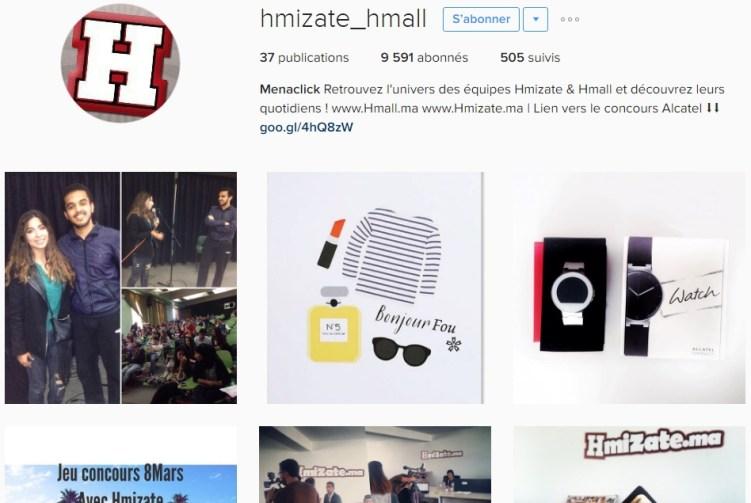 Instagram Hmizate.ma