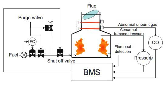Optimum Combustion Control by TDLS200 Tunable Diode Laser