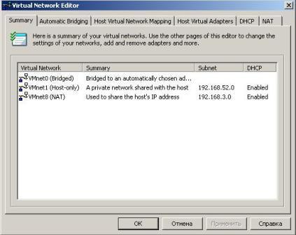 إم وير الشبكة المحلية بين الأجهزة الافتراضية  إعداد شبكة محطة عمل