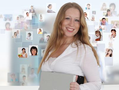 Die Web-Schreibfeder gestaltet einen erfolgreichen Social Media-Auftritt für Sie und übernimmt auf Wunsch die Pflege.