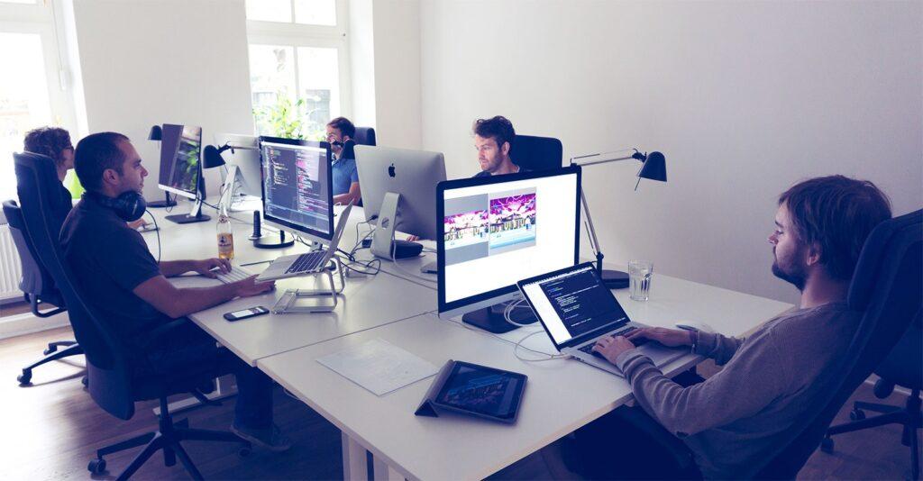 Сотрудники веб студии ТОП