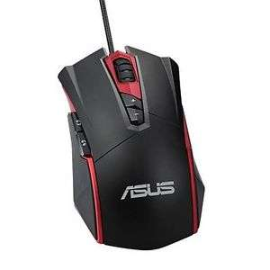 ASUS ESPADA GT200 Wired Gaming Mouse, 4000 DPI, Omron Switches, RGB, Black