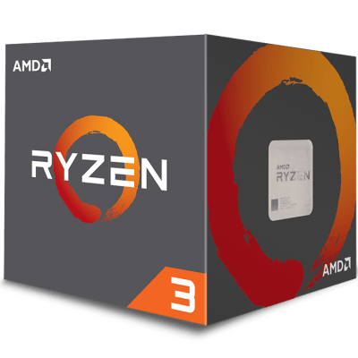 AMD Ryzen 3 1200 3.1GHz Quad Core AM4 Overclockable Processor