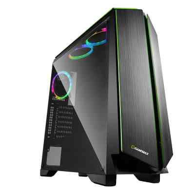 Game Max Zircon RGB Gaming Case With Full Side Window