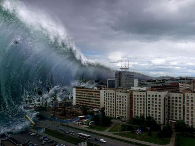 armagedon smak kraj sveta cunami talas