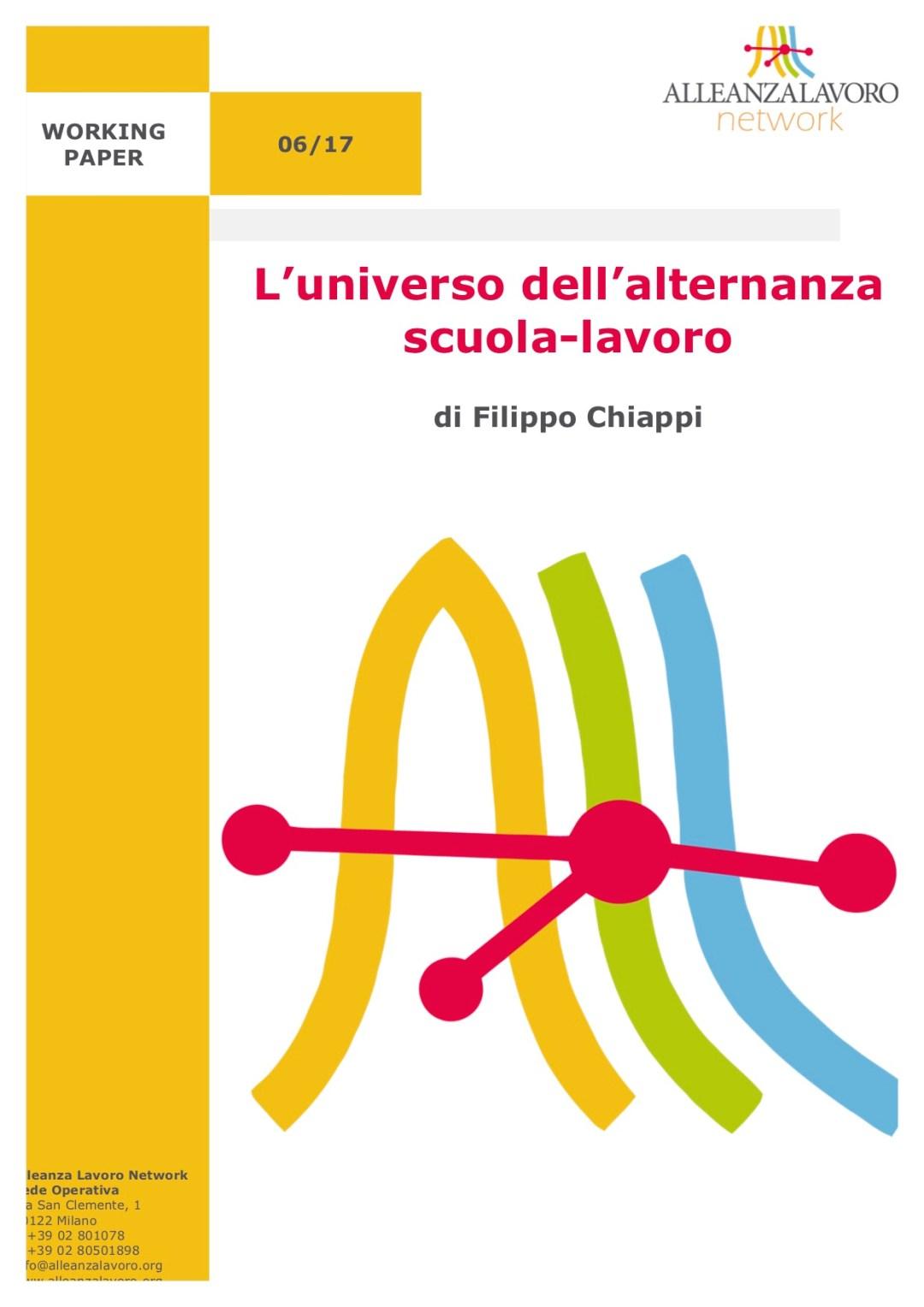 Working Paper: L'universo dell'alternanza scuola-lavoro