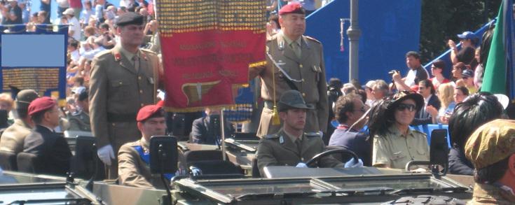 ANVG Associazione Nazionale Volontari di Guerra - Parata Festa Nazionale