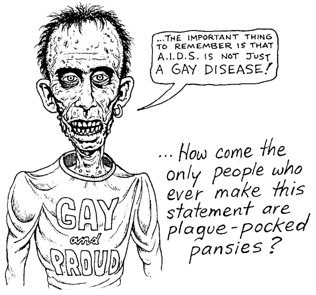 AIDS is a gay disease...how about the fact in Russia it is