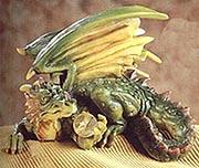 Dragon Shelf Topper