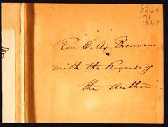 Thoreau manuscript