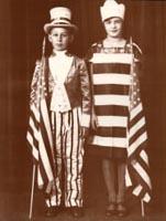 bandera de niños