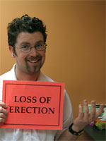 Step 9 of condom use: Loss of erection