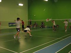 Badminton: Google vs. Yahoo