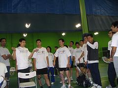 Badminton: Google vs Yahoo!