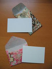 Mini Yuzen Envelopes & Cards