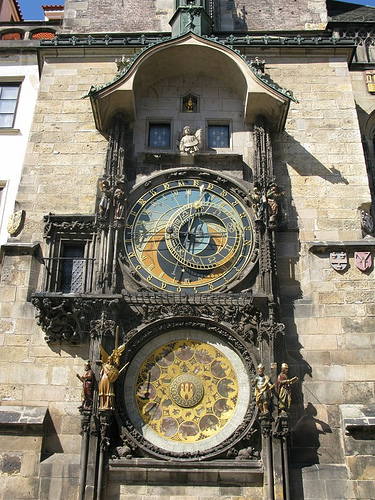 Astronomical Clock by Lazarescu
