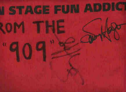 T-shirt Sammy signed