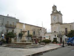 piazza di Francavilla Fontana, su cui venne giustiziato l'Annicchiarico (foto Michele Lenti)