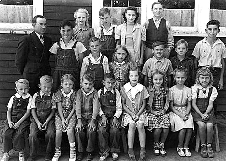 Birch School - around 1941 Photo
