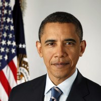 President Barack Obama Portrait - Not natural born citizen