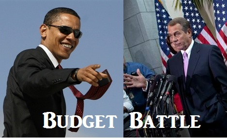 federal budget battle