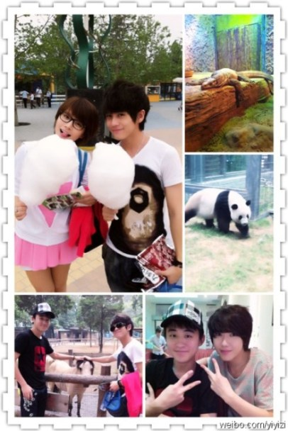 Tallest iMe member Yi Yizi and shortest Super Boy Wu Yi play a couple in Summer Sweetheart