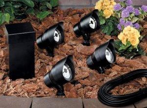 low voltage lighting installation