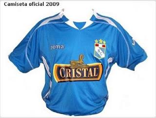 Camiseta Sporting Cristal 2009