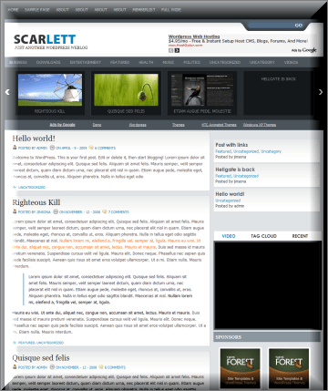 SCARLETT Magazine WordPress Theme