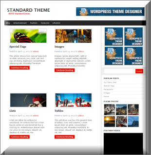 The Web News Magazine WordPress Theme