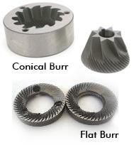 Flat Burr grinder vs Conical Burr grinder