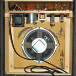 Silvertone 1421 (Sears 10XL) Interior Cabinet Shot