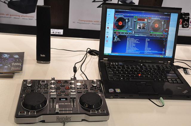 Laptop DJ Midi Controller by AskDaveTaylor