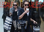Even millionairesses love a bargain! Tamara and Petra Ecclestone browsed the sale rails in their favourite designer stores on a trip to London's Chelsea on Tuesday
