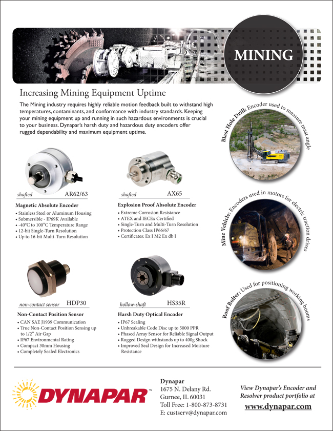 Mining Industry Product Sheet 12_14_12