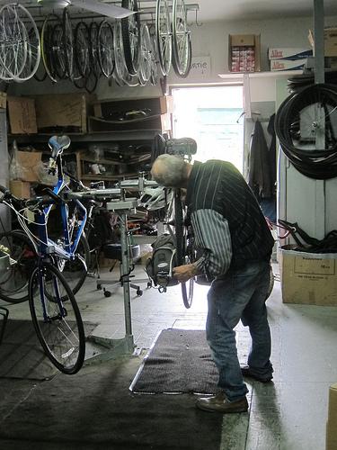 Fixing the wheel