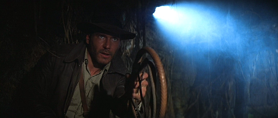 raider of the lost ark opening scene