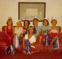 Organized activities for the girls - cheerleaders.