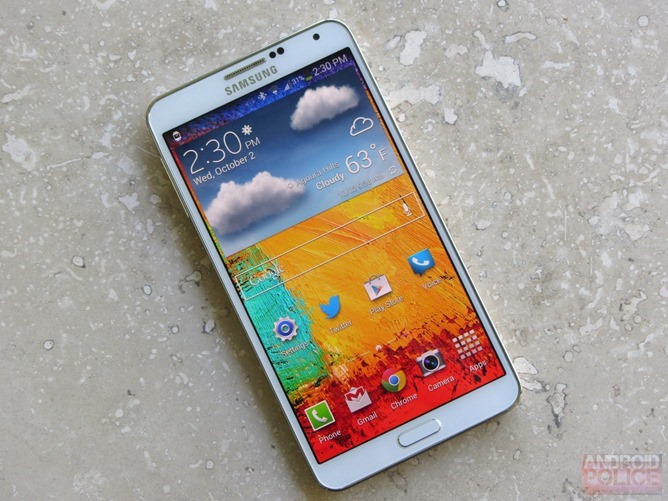 s3 front The Samsung Galaxy Note III and Samsung Galaxy Gear