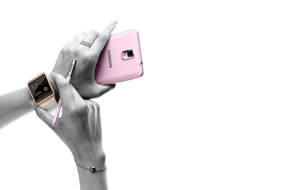 samsung chick 1024x640 The Samsung Galaxy Note III and Samsung Galaxy Gear