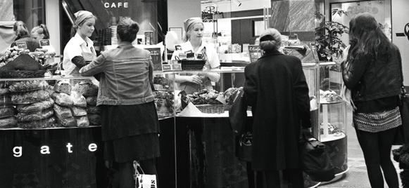 Estocolmo. Café Gateau