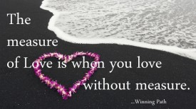 What is The Measure of Love?